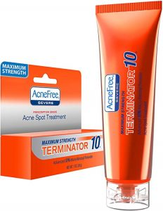 Acnefree Terminator 10 Benzoyl Peroxide Review Beverly Hills Dermnet